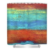 Sand And Sea I Shower Curtain