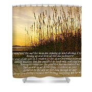 Sand And Surf Shower Curtain