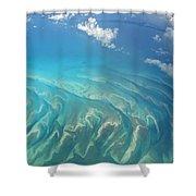 Sand Banks Shower Curtain