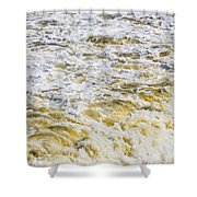 Sand Beach And Wave 5 Shower Curtain
