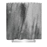 Sand Blend Bw Shower Curtain