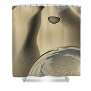 Sand Bubbles Shower Curtain