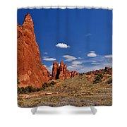 Sand Dune Arch 4 Shower Curtain