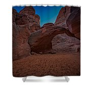Sand Dune Arch Shower Curtain