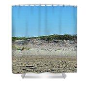 Sand Dune Panorama  Shower Curtain