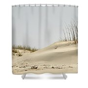 Sand Dunes And Sea Oats Shower Curtain
