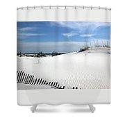 Sand Dunes Dream Shower Curtain