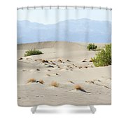 Sand Dunes Plants Hills Shower Curtain