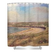 Sand Dunes, St. Ouens Bay Shower Curtain