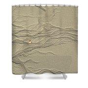 Sand Fire 2 Shower Curtain