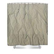 Sand Fire 3 Shower Curtain