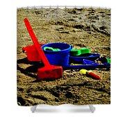 Sand Fun 1 Shower Curtain