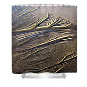Sand Patterns Shower Curtain