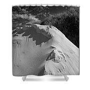 Sand Pile Shower Curtain
