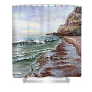 Reflecting Sands  Shower Curtain
