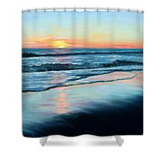 Sand Reflections Shower Curtain