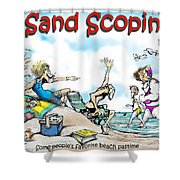 Sand Scopin Shower Curtain
