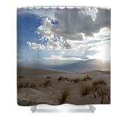 Sand Sun Shower Curtain