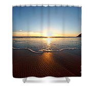 Sand Textures Shower Curtain