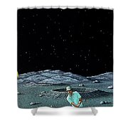 Sand Trap Shower Curtain