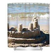 Sandcastle  Shower Curtain