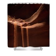 Sandfall Shower Curtain