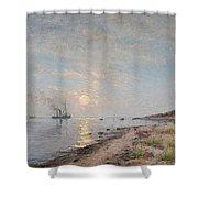 Sandhamn In The Sunset Shower Curtain
