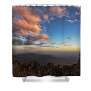 Sandia Peak Shower Curtain