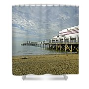 Sandown Pier Shower Curtain