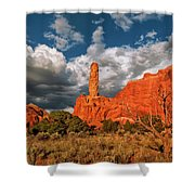 Sandpipe Formations Kodachrome Basin State Park Utah Shower Curtain