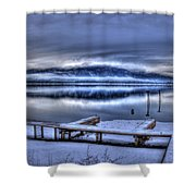 Sandpoint From 41 South Shower Curtain