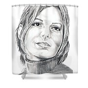 Sandra Bullock Shower Curtain