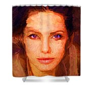 Sandra Jolie Shower Curtain
