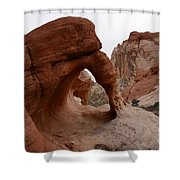 Sandstone Arches Valley Of Fire Shower Curtain