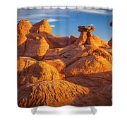 Sandstone Castle Shower Curtain