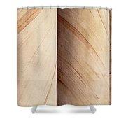 Sandstone Columns Shower Curtain