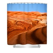 Sandstone Edge Shower Curtain