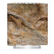 Sandstone Formation Number 4 At Starved Rock State Shower Curtain