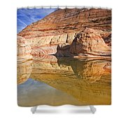Sandstone Illusions Shower Curtain
