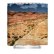 Sandstone Landscape Valley Of Fire Shower Curtain