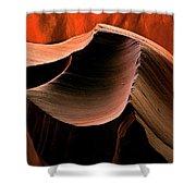 Sandstone Melody Shower Curtain
