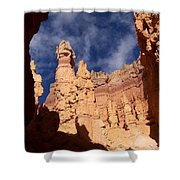 Sandstone Sculpture Shower Curtain