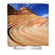 Sandstone Slide Shower Curtain