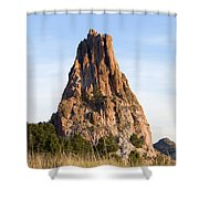Sandstone Spires In Garden Of The Gods Shower Curtain