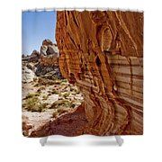 Sandstone Texture Shower Curtain