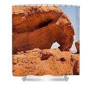 Sandstone Wonder Valley Of Fire Shower Curtain