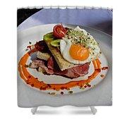 Sandwich Shower Curtain