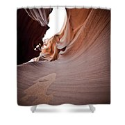Sandy Canyon Shower Curtain