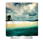 Sandy Cay Shower Curtain