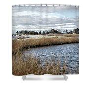 Sandy Hook New Jersey Shower Curtain